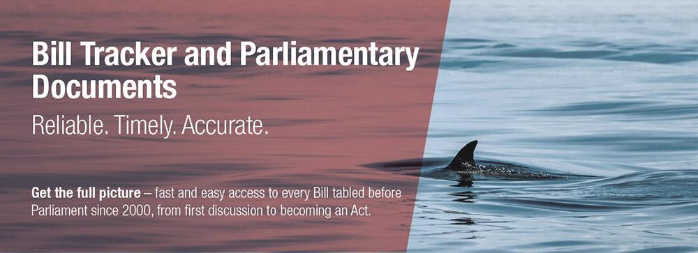 Bill Tracker & Parliamentary Documents